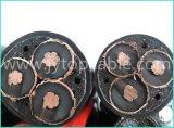 Câble en aluminium moyen 3X95mm de la tension 15kv avec le certificat de la CE