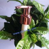Bomba roxa plástica da loção para os frascos de creme do champô/banho