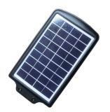 6W todo em uma luz de rua solar com controlador da carga