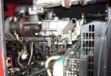 Isuzuエンジン(IK30300)を搭載する25kVA-37.5kVAディーゼル無声発電機