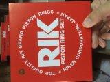 aro del pistón original de Genunie Rik de la alta calidad 6D16 hecho en la fabricación de Japón para el modelo 20281A/Rik del motor del excavador