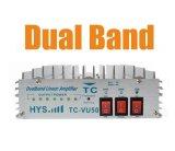 Versterker van de Macht van de Band 136-174&400-480MHz VHF&UHF van Hys de Witte Dubbele Draagbare Radio tc-Vu50
