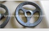 Дуктильное колесо руки отливки утюга