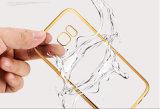 Cubierta suave de goma cristalina del caso del laminado TPU para el iPhone 6/6s