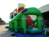2016 nuevo Design Inflatable Chamaleon Slide para Sale