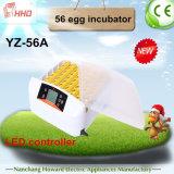 Kip van de van Hoofd hhd Incubator van het Ei van het Controlemechanisme de Volledige Automatische Kleine (yz-56A)