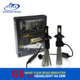 8-32V farol do diodo emissor de luz da C.C. 25W 3200lm G5 Fanless H4, auto farol com certificações de Ce& RoHS