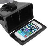 2016 caja vendedora caliente 2.0 3D ajustable Vr de la cartulina 3D Vr de Plasti HD de la caja de vidrios de la realidad virtual