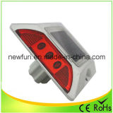 Hot Salts Aluminum IP68 Red LED Solar Road Stud
