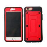 случай 3 зажима iPhone в 1 комбинированные случае iPhone 6 случая телефона добавочном гибридном