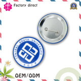관례 50mm Printed Iron Logo Tinplate Bottom Button Badge