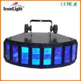 luz del efecto de mariposa de 2X10W RGBW LED para la etapa DJ Equipemnt