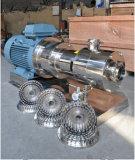 Bomba esquileo sanitario del acero inoxidable del alto/homogeneizador de emulsión de la bomba