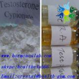 Testosterona sin procesar anabólica Cypionate de los esteroides del crecimiento del músculo de la pureza del 99%