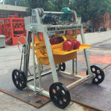 Manuelle mobile Ziegelstein-Maschinen-Höhlung-Block-Maschinerie