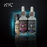 E-Vloeistof van de Reeks van de Schedel van Kyc de Zachte Zoete voor e-Cig/Roze/de Fles van het Glas 30ml