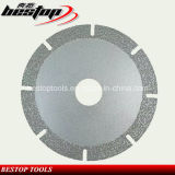 Vuoto Brazed Diamond Blade per Granite/Marble/Travertine/Limestone Cutting