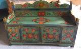 Chinesisches antikes Wiedergabe-Holz-Sofa