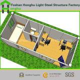 Casa modular viva prefabricada de dos pisos del envase