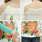 Frauen-Farben-Hülsen-Sperre-Schulter-Blumenüberbrückungsdraht