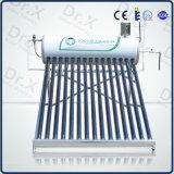 Sistema solar precalentamiento bobina de cobre a presión del calentador de agua
