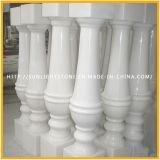 Balaustra rossa/grigia/bianca di pietra naturale della pietra del marmo del granito per Handrall