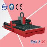 metallo 1000W che elabora il macchinario di taglio del laser della fibra del macchinario