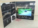 7inch LCD het VideoBoek van het Scherm met de Druk en het Ontwerp van de Douane