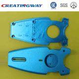 Peça plástica de trituração de alumínio do CNC