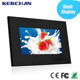 """선반 거치되는 잘 고정된 광고 LCD 디스플레이 7 """" 10 """""""