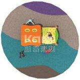 Хата напольной спортивной площадки Kaiqi деревянная для малышей (KQ60079C)