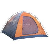 Double couche en gros imperméabilisant la tente campante de la personne 3-4