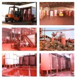 Rood 140 van het Oxyde van het ijzer (www-pigmentironoxide-Com)