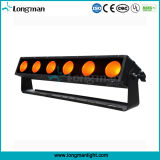 6PCS al aire libre 25W RGBAW 5en1 LED Pixel Light Bar