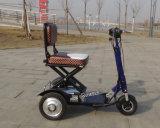 миниый складной E-Bike батареи лития 350W для более старых людей