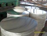 hoja redonda de aluminio no aliada para la cacerola antiadherente