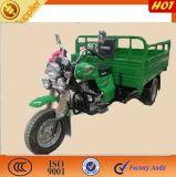 Un tipo motorizado linterna motocicleta del triciclo