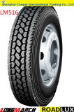 305 / 70R19.5 Steer Long March / Roadlux Venta al por mayor neumático radial del camión (LM516)