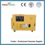 портативный молчком тепловозный генератор 9kw