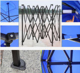 Stahlgartengazebo-Zelt des spant-3X4.5m faltendes