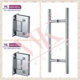 Aço inoxidável 304 Pss 5mm dobradiça do banheiro de 90 graus (GSH-002)