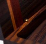 Mixta de madera caja de la pluma con el imán