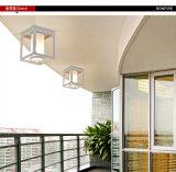 Moderne einfache im Freien Aluminiumdeckenleuchte-an der Wand befestigte helle imprägniern, Cer u. Vde u. SAA