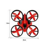 Mini Quadcopter 2.4G 4CH 6 rtf di modello di asse RC di E010