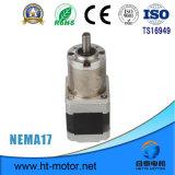 Motor de pasos NEMA17 con la caja de engranajes