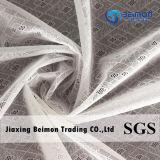 Tessuto di nylon comodo eccellente del merletto della maglia del jacquard dello Spandex per la biancheria intima