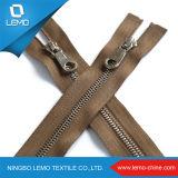 Chiusura lampo del metallo di 3# Ykk, chiusura lampo dell'accessorio del sacco di DIY