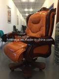 Présidence en cuir luxueuse de bureau de type classique (FOH-A01)