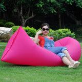 Park-Strand-Campus-wasserdichtes Polyester-aufblasbares Auto-Bananen-Luft-Schlafenkampierendes Bett