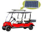 vehículo utilitario del EEC del panel solar del asiento 48V 4 con el rectángulo del cargo